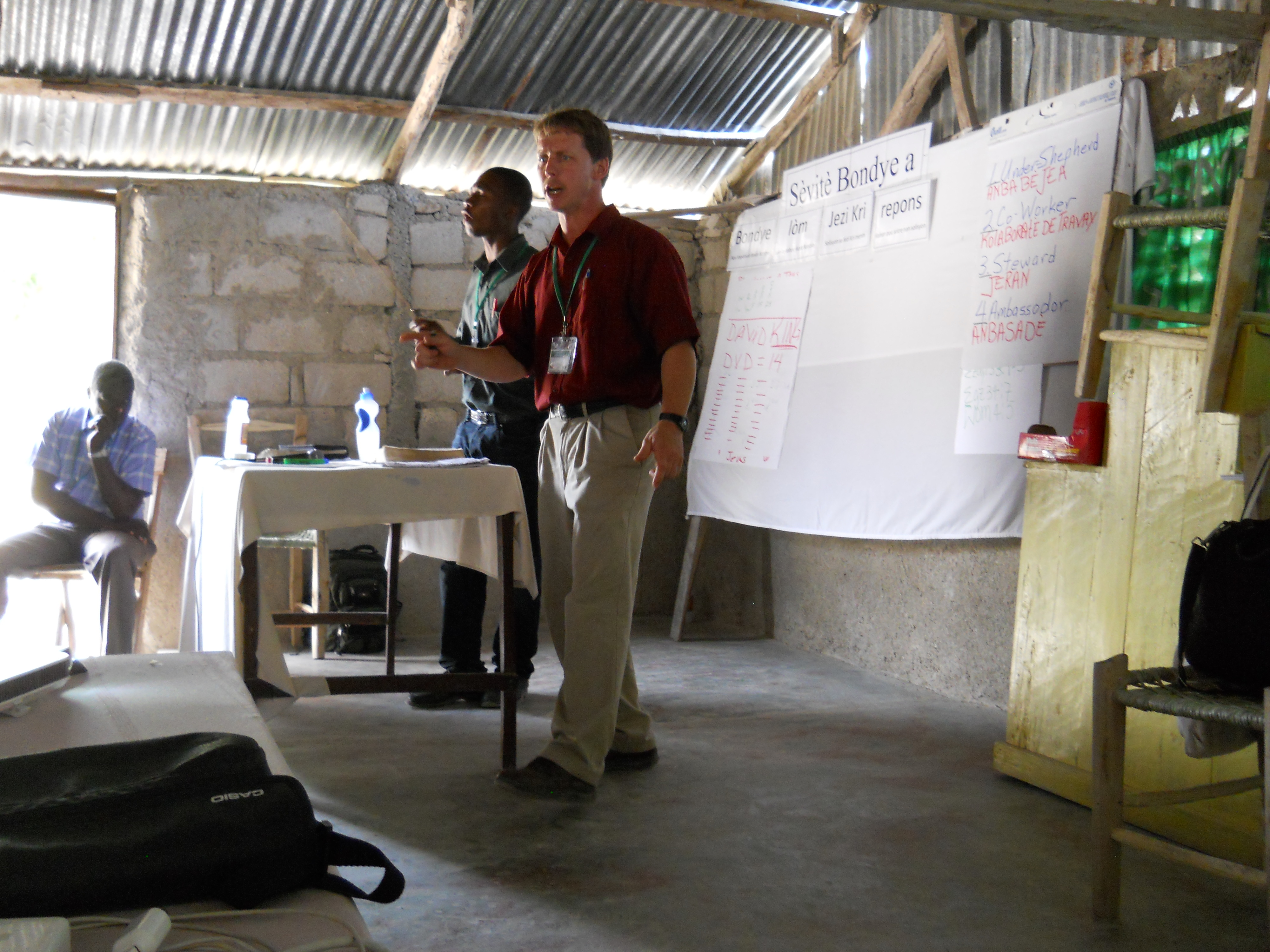 Pastor's Conference in Fourby, Haiti
