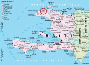 haiti map jean Rabel